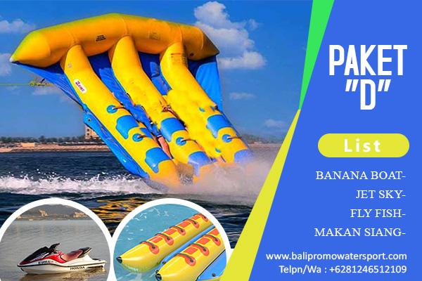 Paket D Watersport di Bali
