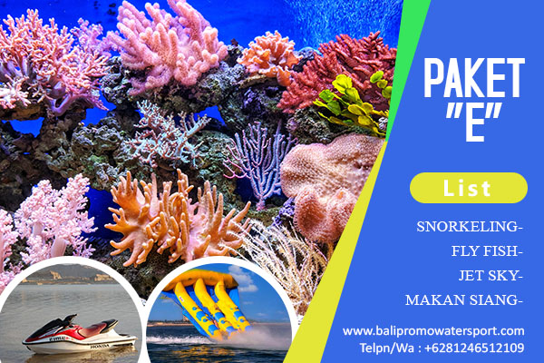 Paket E Watersport di Bali