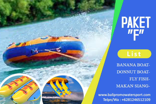 Paket F Watersport di Bali