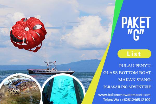 Paket G Watersport di Bali