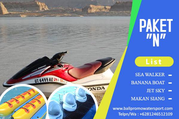 Paket N Watersport di Bali